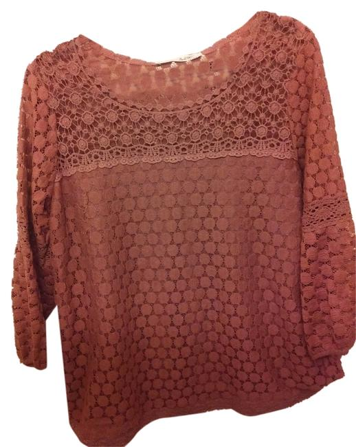 Preload https://img-static.tradesy.com/item/9945670/brown-solitaire-blouse-size-14-l-0-1-650-650.jpg