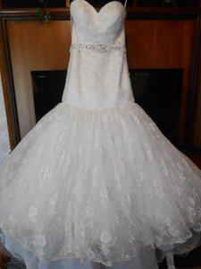 Mori Lee Brand New Madison Collection 4642 Lace Wedding Dress