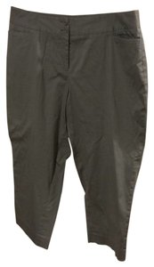 Lane Bryant Capri Trousers Capri/Cropped Pants Light Gray/Silver
