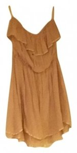 Ya Los Angeles short dress Cream on Tradesy