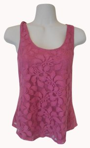Banana Republic Lace Top Pink