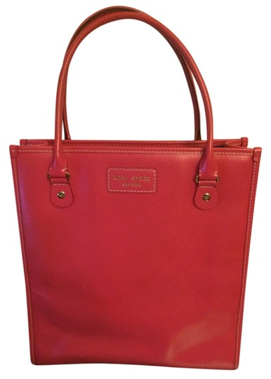 Preload https://item1.tradesy.com/images/kate-spade-pink-leather-tote-994650-0-0.jpg?width=440&height=440