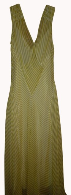 Preload https://item2.tradesy.com/images/bcbgmaxazria-striped-silk-max-azria-collection-knee-length-night-out-dress-size-2-xs-994941-0-0.jpg?width=400&height=650