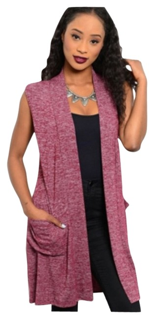 Preload https://item1.tradesy.com/images/rose-pink-new-photos-addedoversized-ribbed-look-with-pockets-cardigan-size-14-l-9949690-0-2.jpg?width=400&height=650