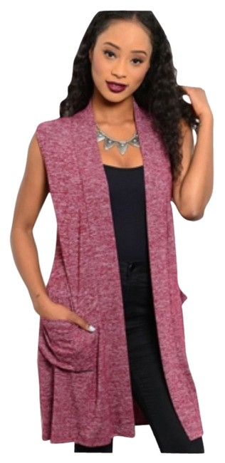 Preload https://item2.tradesy.com/images/rose-pink-new-photos-addedoversized-ribbed-look-with-pockets-cardigan-size-10-m-9950086-0-2.jpg?width=400&height=650