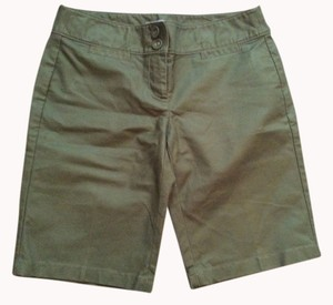 ANN TAYLOR Dress Shorts OLIVE GREEN