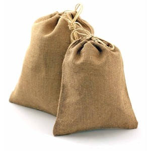 Burlap Brown 30 Bags Wedding Favors