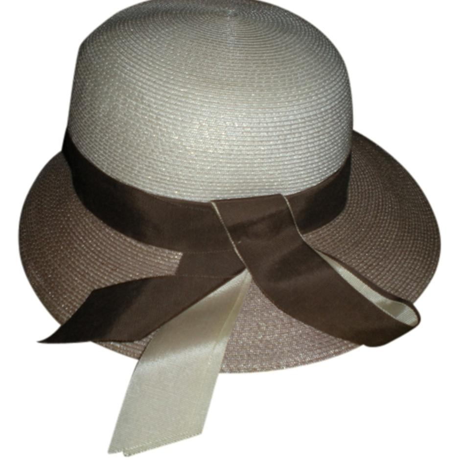 Beige Straw Womans Made In Usa Size 22 1 2 Mint Condition Hat - Tradesy 7a649e1d934