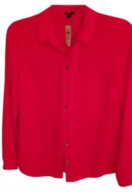 Preload https://item4.tradesy.com/images/ann-taylor-orange-button-down-top-size-10-m-9958-0-0.jpg?width=400&height=650