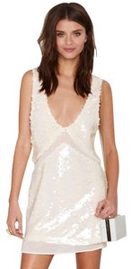 Nasty Gal Sequin Sheer Dress