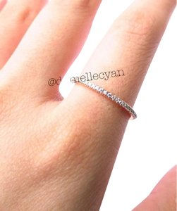 Other Rose Gold pave band