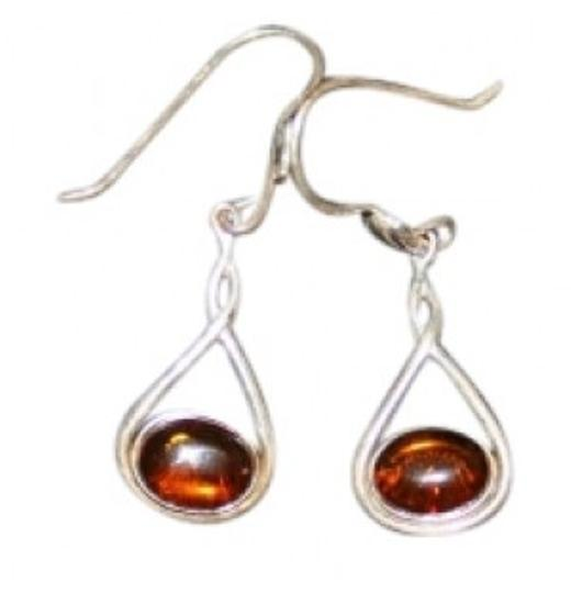 Other Sterling Silver Amber Earrings