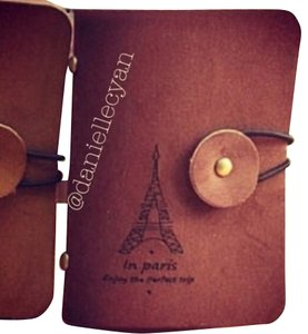 Paris card flipbook