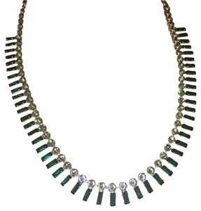 Sorrelli Crystal Baguette Long Strand Necklace