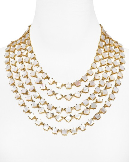 Preload https://item3.tradesy.com/images/kate-spade-12k-gold-and-mother-of-pearl-and-crystal-cove-exquisite-5-strand-a-favorite-on-the-fashio-9958912-0-1.jpg?width=440&height=440