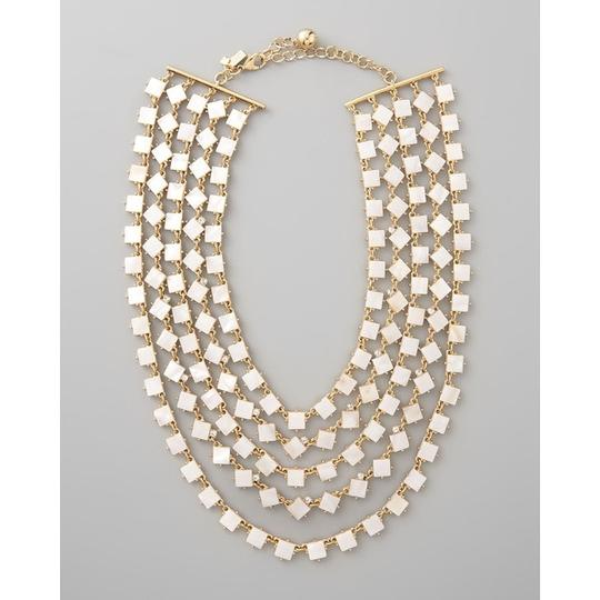 Kate Spade Kate Spade Pearl Cove Necklace NWT Exquisite 5 Strand Mother of Pearl & Crystal! A Favorite on the FAshion Blogs!