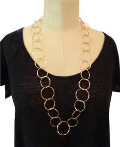 Cassetti ROSEGOLD Link Chain Necklace