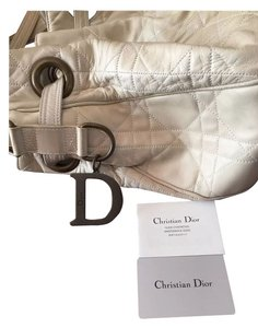 Dior Christian Bags Tote in Cream off white