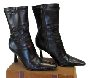 Gianni Bini Size 6.00 M Very Good Condition Black Boots