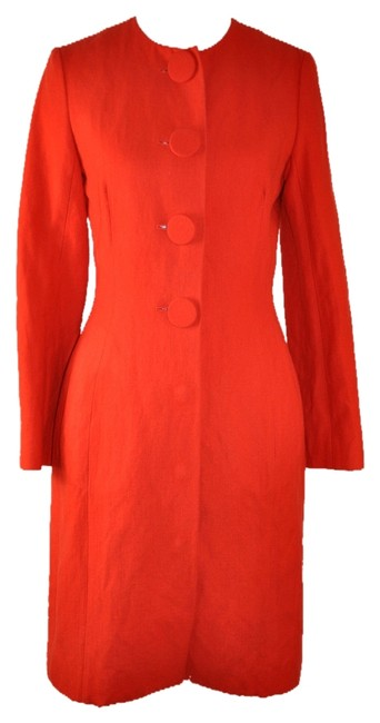 Preload https://img-static.tradesy.com/item/9961165/lanvin-red-orange-wool-blend-size-8-m-0-1-650-650.jpg