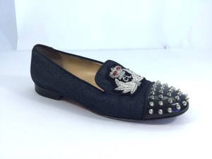 Christian Louboutin Denim Flats