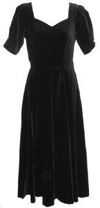 Laura Ashley Vintage Velvet Party Dress