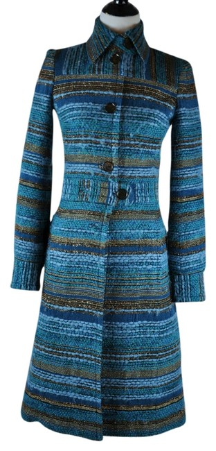 Preload https://item3.tradesy.com/images/tuleh-turquoise-multicolor-wool-blend-size-8-m-9961597-0-1.jpg?width=400&height=650