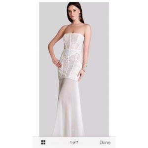 Bcbgmaxazria wedding dresses up to 90 off at tradesy bcbgmaxazria modern wedding dress size 8 m junglespirit Images