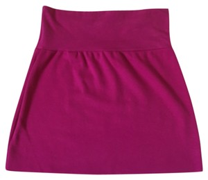American Apparel Mini Skirt Magenta