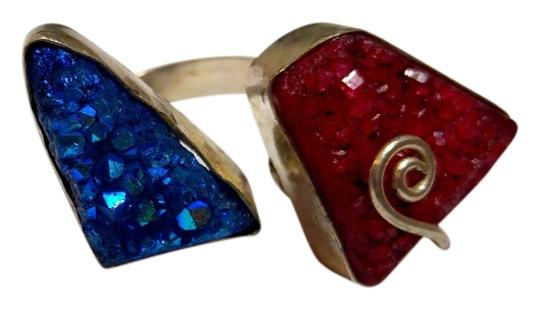 Preload https://item2.tradesy.com/images/blue-red-druzy-agate-gemstone-one-size-8-sterling-silver-a192-ring-9961876-0-1.jpg?width=440&height=440