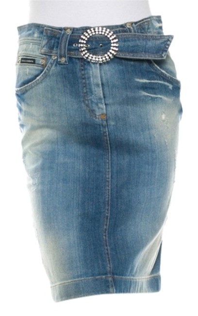 Preload https://item4.tradesy.com/images/dolce-and-gabbana-blue-distressed-denim-crystal-buckle-midi-skirt-size-6-s-28-9961888-0-1.jpg?width=400&height=650