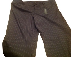 Lane Bryant Relaxed Pants Black with white thin pinstripes