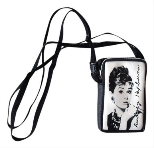 Preload https://item3.tradesy.com/images/black-and-white-audrey-hepburn-small-bag-tech-accessory-9962092-0-1.jpg?width=440&height=440