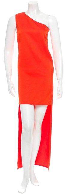 Preload https://img-static.tradesy.com/item/9962137/stella-mccartney-red-orange-silk-cocktail-long-night-out-dress-size-6-s-0-1-650-650.jpg