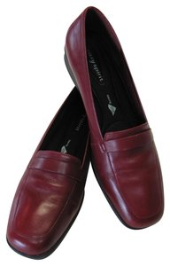 Easy Spirit Leather Size 7.50 N Dark Red Flats