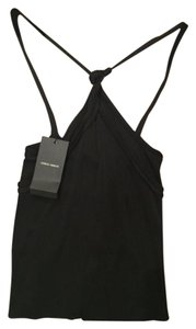 Giorgio Armani Quality Brand New Italy BLACK Halter Top
