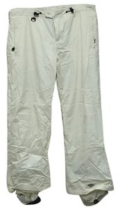Roxy snowboard pants Athletic Pants Off white