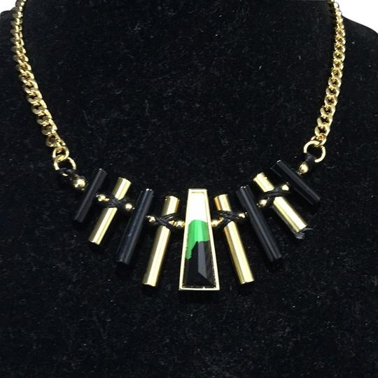 Preload https://img-static.tradesy.com/item/9963058/vince-camuto-goldblackgreen-soiked-necklace-0-1-540-540.jpg