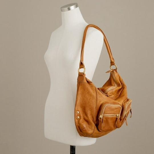 J.Crew Handbags Chic Leather Hobo Bag