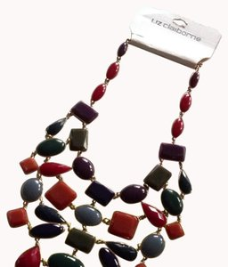 Liz Claiborne New Liz Clairborne Spice Palm Springs Necklace