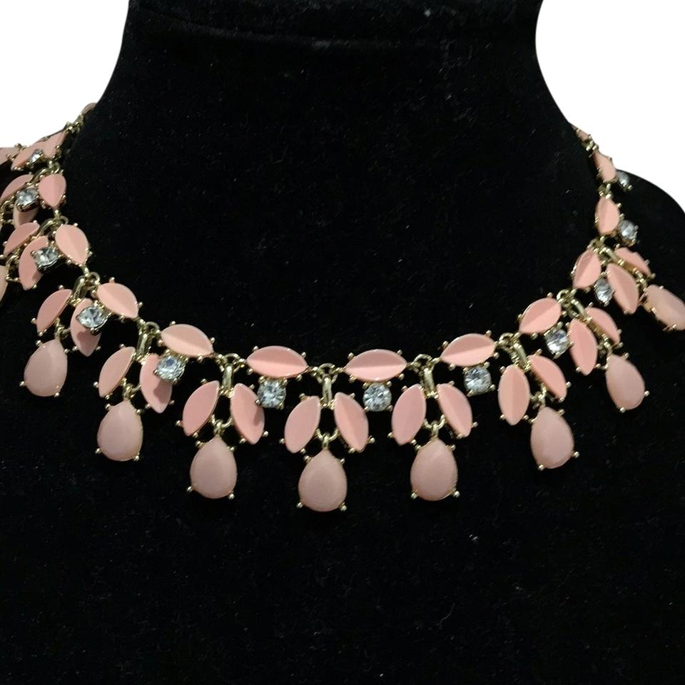 Kate spade peach light chandelier necklace tradesy kate spade kate spade light peach chandelier necklace aloadofball Images