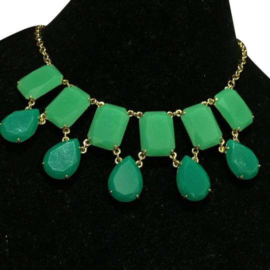 Preload https://item3.tradesy.com/images/kate-spade-greengold-two-tone-crystal-necklace-9963412-0-1.jpg?width=440&height=440