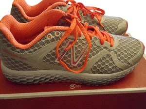 New Balance orange and gray Athletic