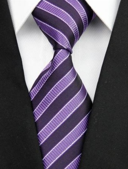 Preload https://img-static.tradesy.com/item/996346/purple-black-stripes-classic-mens-tiebowtie-0-0-540-540.jpg