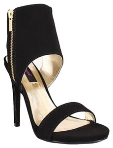 Dollhouse Heels Sexy Black Sandals