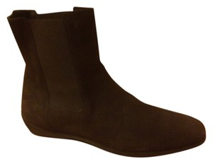 Tod's Chelsea Taupe Chelsea Beige Dark Brown Boots