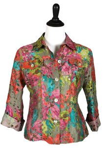 Ruby Rd. Top Multicolor