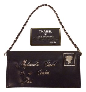 Chanel CHANEL CLUTCH MAIL MADEMOISELLE LAMBSKIN WALLET ON A CHAIN-COLLECTIBLE