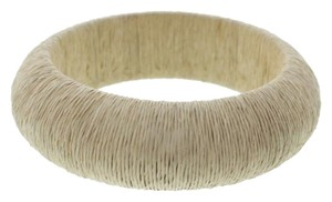 Kennth j lane KENNETH JAY LANE NEW Womens Beige Twine Textured Bracelet $58