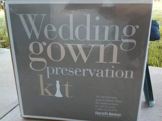 David's Bridal Wedding Gown Professional Cleaning & Preservation Kit